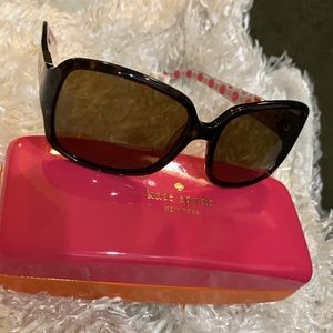 Kate Spade Lulu Polarized Sunglasses with Case